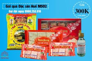 Gói quà Đặc sản Huế giá 300k
