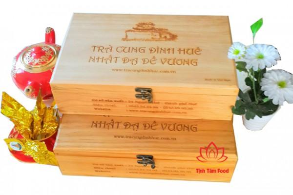 Trà Cung Đình Huế hộp gỗ